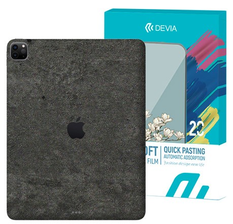 5 Protectores Traseros Colorful Texturas Tablet - Modelo E